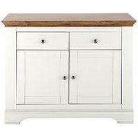 Product photograph showing Wiltshire 2 Door 2 Drawer Compact Sideboard