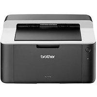 Brother Hl-1112 A4 Mono Usb Laser Printer 20Ppm 1 Tray - Black White