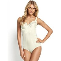 Miss Mary of Sweden Underwired Bodysuit, Champagne, Size 38C, Women