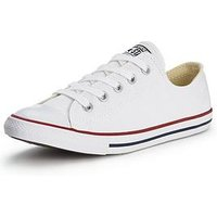 Converse Chuck Taylor All Star Dainty, White, Size 3, Women