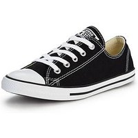 Converse Chuck Taylor All Star Dainty, Black / White, Size 7, Women