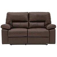 Newberg 2-Seater Premium Leather Manual Recliner Sofa
