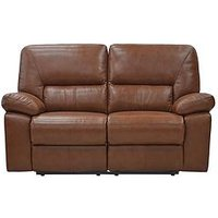 Newberg 2-Seater Premium Leather Manual Recliner Sofa
