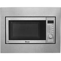 4e4f60848367 Swan Smb22040 23-Litre Built-In Microwave - Stainless Steel
