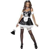 Flirty French Maid - Adult Costume, Size S, Women