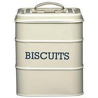 Kitchencraft Antique Biscuit Tin - Cream