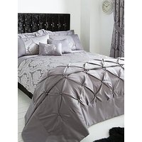 Product photograph showing Boston Jacquard Duvet Cover Set - Double