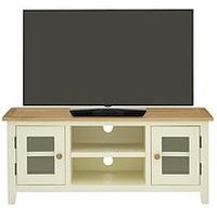 Luxe Collection - London Painted Ready Assembled Tv Unit - Fits Up To 50 Inch Tv