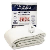 Product photograph showing Dreamland Dreamland Starlight Cosy Toes Double Heated Under Blanket