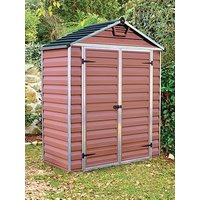 Product photograph showing Palram 6 X 3ft Skylight Shed