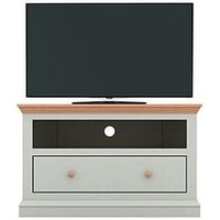 Hannah Corner Tv Unit - Sage/Oak-Effect - Fits Up To 44 Inch Tv