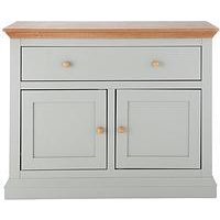 Product photograph showing Hannah Compact Sideboard - Sage Oak-effect