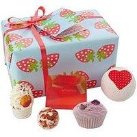 Bomb Cosmetics Bath Bomb Strawberry Patch Gift Set, One Colour, Women