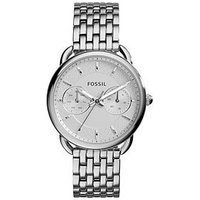 Fossil Tailor Multifunction Stainless Steel Ladies Watch, One Colour, Women
