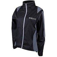 PROVIZ Ladies Waterproof Jacket, Black, Size 16, Women