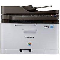 Samsung C480Fw Wireless Colour Multi-Function Laser Printer - White