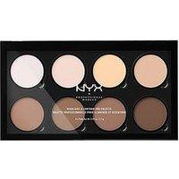Nyx Professional Makeup Highlight &Amp; Contour Pro Palette, Women