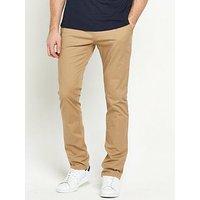 V by Very Slim Stretch Chino, Stone, Size 32, Inside Leg Short, Men