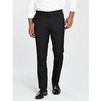 V by Very Slim Trouser, Black, Size 36, Length Long, Men