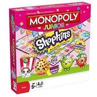 Monopoly Shopkins Junior Board Game