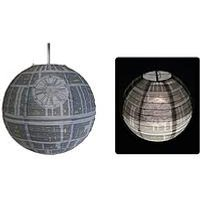 Product photograph showing Fizz Death Star Lamp Shade
