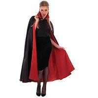 Vampire Cape with Red Lining, One Colour, Women