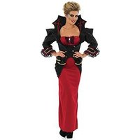 Deluxe Vampiress Dress & Jacket - Adult Costume, One Colour, Size L, Women