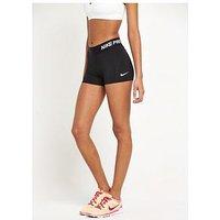 Nike Pro Cool 3 Inch Short, Black, Size M, Women