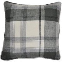Westary Check Rustic Woven Filled Cushion