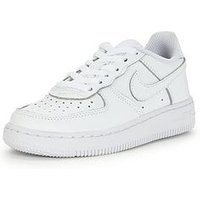Nike Nike Air Force 1 Junior Trainer, White, Size 4