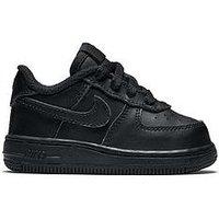 Nike Nike Air Force 1 '06 Infant Trainer, Black, Size 5
