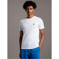 Lyle & Scott Mens T-Shirt, White, Size L, Men