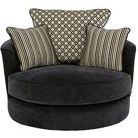 Modena Fabric Swivel Chair