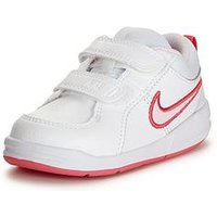 Nike Pico 4 Infant Trainer, White/Pink, Size 5