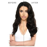 Beauty Works Double Hair Set Clip-In Extensions 18 Inch 100% Remy Hair - 180 grams, Blondette, Women