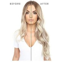 Beauty Works Double Hair Set Clip-In Extensions 22 Inch 100% Remy Hair - 220 grams, 2 Raven, Women