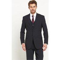 Skopes Darwin Mens Jacket, Navy Stripe, Size 52, Length Regular, Men