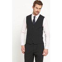 Skopes Darwin Mens Waistcoat, Black, Size 42, Length Regular, Men