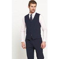 Skopes Darwin Mens Waistcoat, Navy, Size 48, Length Regular, Men