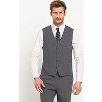 Skopes Darwin Mens Waistcoat, Grey, Size 48, Length Regular, Men