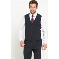 Skopes Darwin Mens Waistcoat, Navy Stripe, Size 44, Length Regular, Men