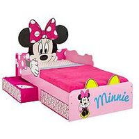 Minnie Mouse  Toddler Bed with storage by HelloHome, One Colour