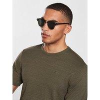 Ray-Ban Rayban Clubmaster Sunglasses, Black, Men