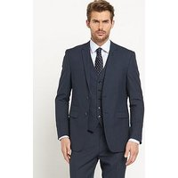 Skopes Sharpe Mens Suit Jacket, Blue, Size 42, Length Regular, Men