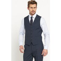 Skopes Sharpe Mens Waistcoat, Blue, Size 46, Length Regular, Men