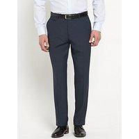 Skopes Sharpe Mens Suit Trousers, Blue, Size 34, Inside Leg Regular, Men