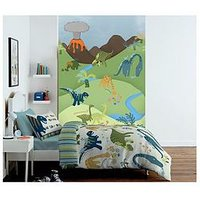 Catherine Lansfield Dinosaur Wall Art, Multi