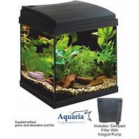 Lotus Aquaria Fish Tank Set 30 - 23Ltrs Including Lighting, Pump And Filter