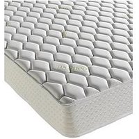 Product photograph showing Dormeo Memory Foam Aloe Vera Deluxe Mattress - Medium Soft