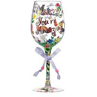 Lolita Mum You're Amazing Standard Wine Glass, One Colour, Women